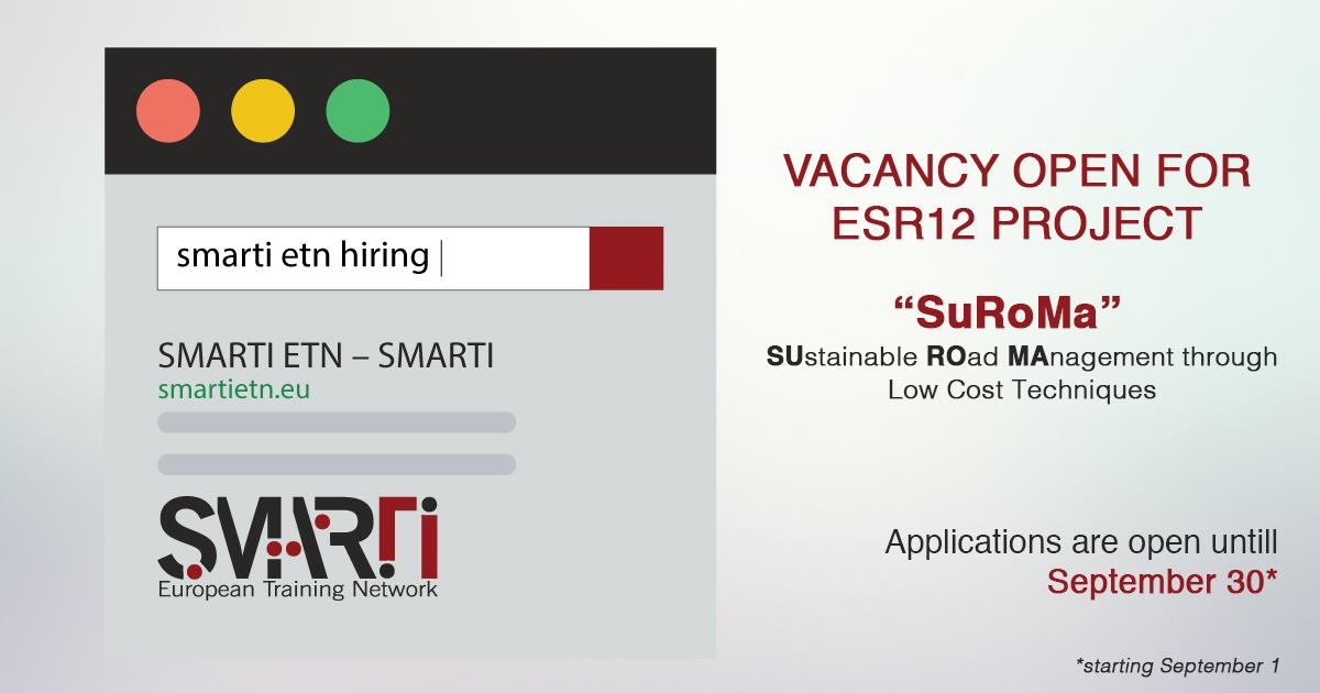 SMARTI ETN is hiring!