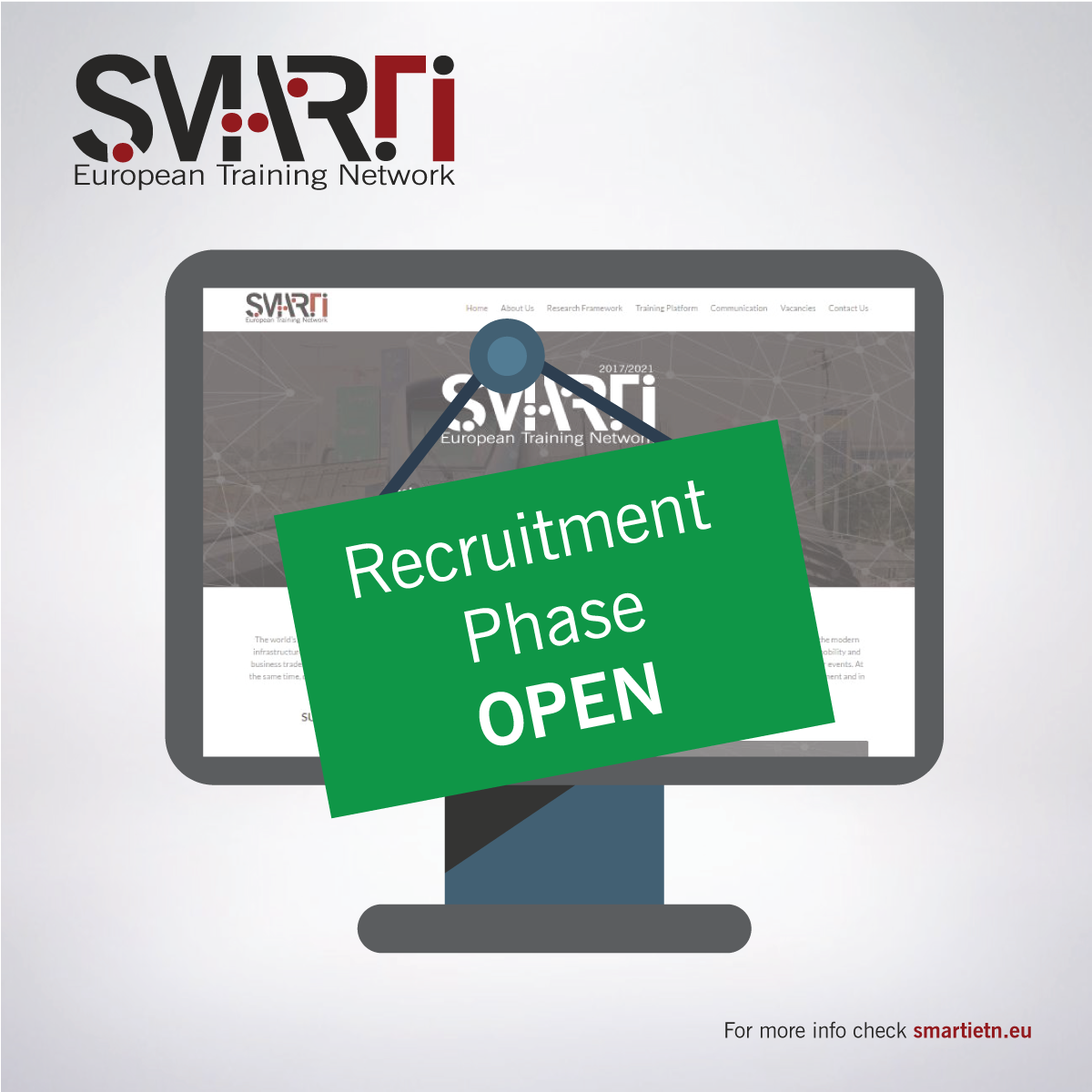 SMARTI ETN enters Open Recruitment Phase